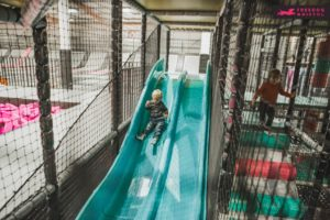 Playing Soft Play at Freedog Bristol